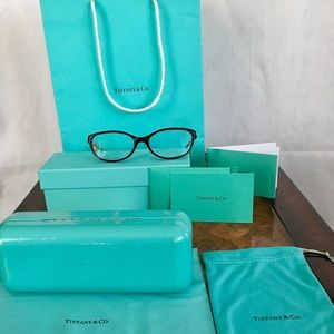 Authentic Tiffany & Co. Glasses, Accessories, Bag